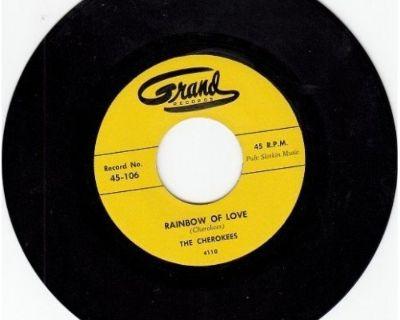CHEROKEES ~ Rainbow Of Love*Mint-45 !