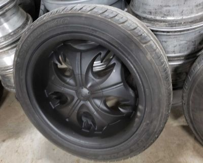 6x139.7 Rims With tires