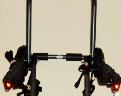 New - Four Bicycle Trunk Mount Car Rack