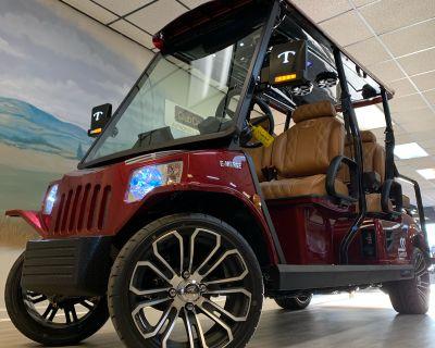 2021 Tomberlin E-Merge E4 SS w/ Rear-Facing Seat Electric Golf Carts Canton, GA