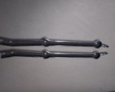 CHROME WINDSHIELD STANCHIONS