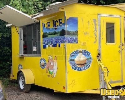 2017 Ice Cream Concession Trailer Ice Cream Shop on Wheels