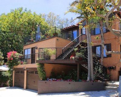 Hollywood Hills Mediterrnean Magical Terraced Garden, Los Angeles, CA