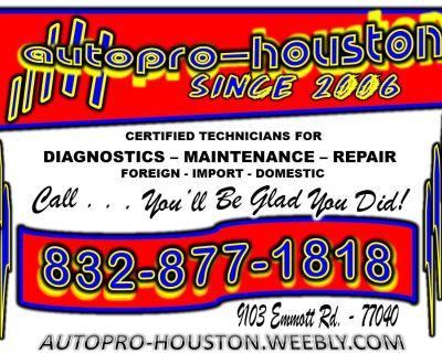 AC   Transmission   Engine   Electrical   Brake   Steering Repair