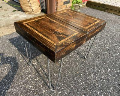 Handmade, Rustic Reclaimed Wood Table