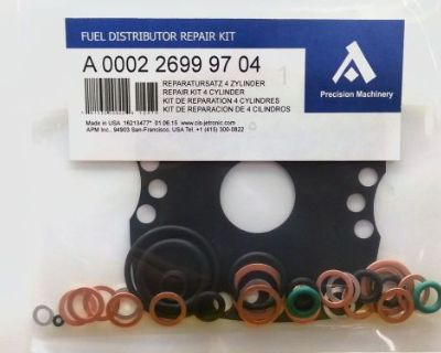 0438101010 Repair Kit For Bosch Fuel Distributor Mercedes 190e 2.3-16 Eha