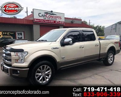Used 2017 Ford F-150 King Ranch SuperCrew 6.5-ft. 4WD