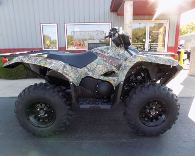 2021 Yamaha Grizzly EPS ATV Utility Janesville, WI