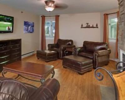 Super affordable family size ski condo with wood burning fireplace. Pro Speed Wi-Fi. FREE underground parking and on FREE bus route. - North Park City