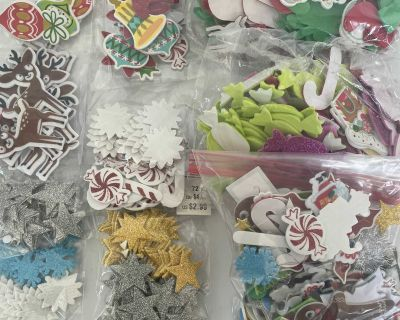 Assorted Christmas Craft Stickers