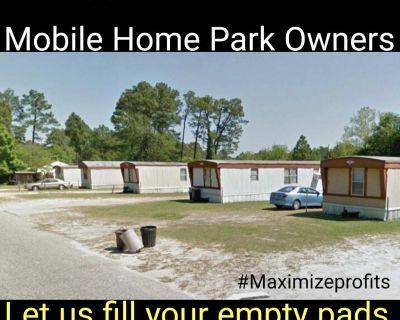Park services mobile homes