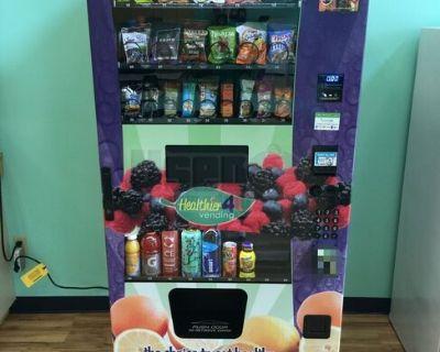 2017 Healthier 4U Combo Healthy H4U Electronic Snack & Drink Vending Machines