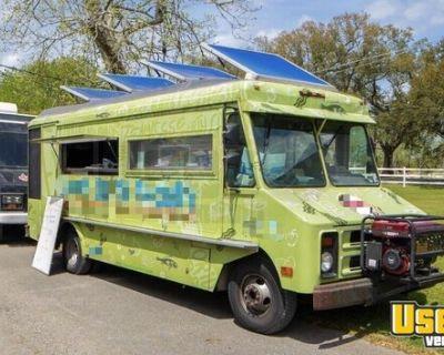 Used GMC P3500 24' Stepvan Kitchen Food Truck w/ Pro Fire Suppression System