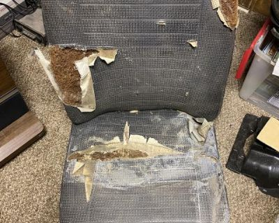 Early bay window front drivers seat