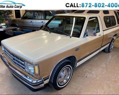 1986 Chevrolet S10 Regular Cab 2WD