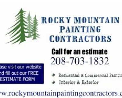 Exterior Painting - Click or Call to Book your Project!   208-703-1832