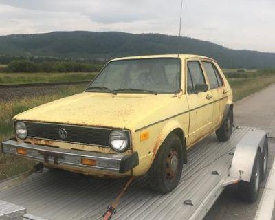 79 Rabbit Diesel Very Original Runs/drives