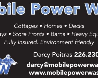 Mobile Power Wash Cottages -...