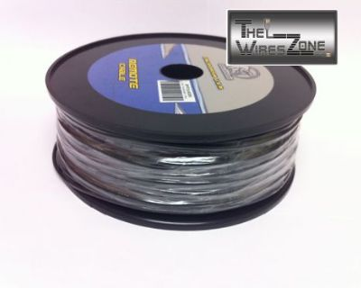 New Bullz Audio Bpr18.400bk 18 Gauge 400' Feet Primary Remote Wire Cable Black