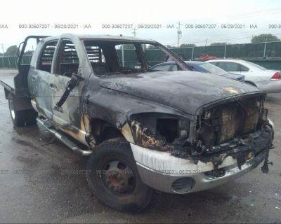 Salvage Gray 2007 Dodge Ram 3500