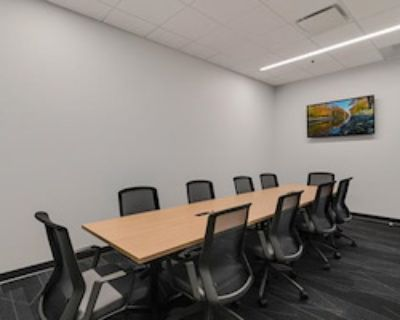 Private Meeting Room for 10 at e|spaces Orlando