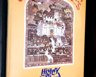 """VINTAGE - GRAHAM CLARKE'S """"HISTORY OF ENGLAND"""" - SIGNED BY AUTHOR"""