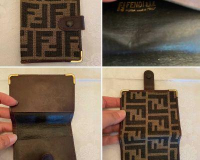 Vintage Fendi Card Holder