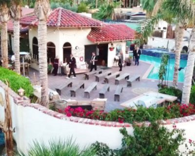 Private Spanish Desert Home Event Space with Mountain Views. Great space to celebrate., Palm Desert, CA