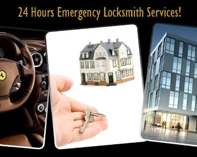 24 Hours Locksmith DC is Available To Solve