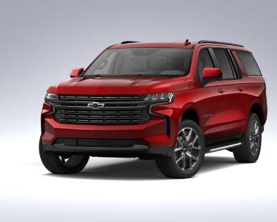 New 2021 Chevrolet Suburban RST Four Wheel Drive SUV