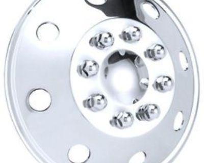 """Winnebago Rv Motorhome & Trucks 16"""" Stainless Steel Wheel Covers Hubcap Set Of 4"""