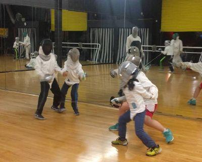 Fencing instruction in Pasadena