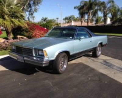 1979 El Camino for Sale - 2 Tone Blue - Very Cool
