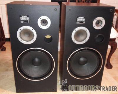 """FS/FT Pair Yamaha CS-850W 3 way loudspeaket 32""""h"""