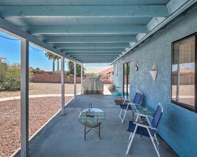 NEW! Single-Story Home w/Patio, 6MI to Lake Mohave - Sunridge Estates
