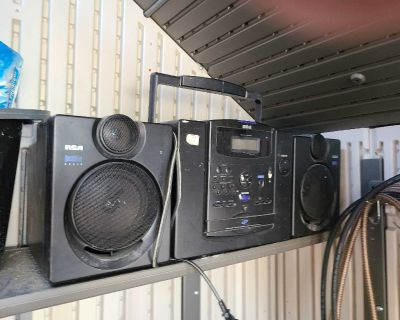 Radio CD and cassette (battery or power)