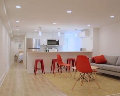 Modern Two Bedroom English Basement in Mt Pleasant! - Mount Pleasant