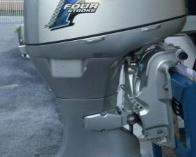 2012 Honda 50 Hp Outboard Motor 4 Stroke Like Yamaha