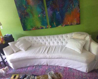 Henredon down sofa