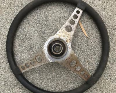 Steering wheel with adapter