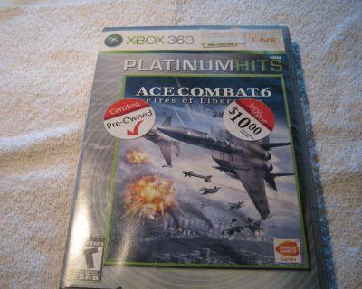 XBOX 360 ACE COMBAT 6