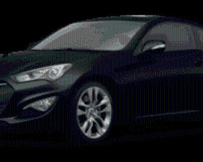 2016 Hyundai Genesis Coupe 3.8 Ultimate with Black Seats Automatic