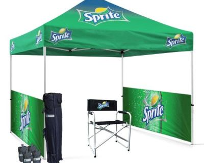 Heavy Duty Custom 10x10 Pop Up Tent For Events
