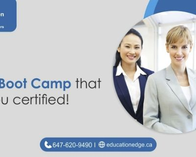A PMP Boot Camp that gets you certified!