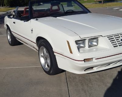 1984 FORD MUSTANG CONVERTIBLE 20TH SPECIAL EDITION