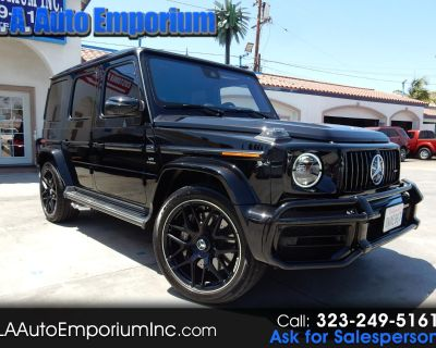 Used 2020 Mercedes-Benz G-Class AMG G 63 4MATIC SUV
