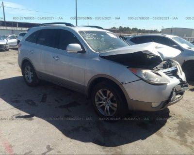 Salvage Silver 2012 Hyundai Veracruz