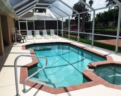 Dream Vaca Pool w/Hot Tub! Direct Gulf Access Canal! - Cape Coral