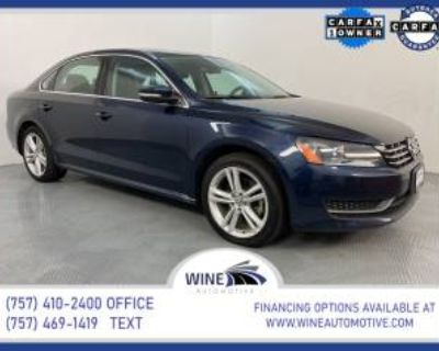 2014 Volkswagen Passat TDI SE with Sunroof Sedan DSG
