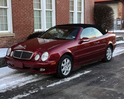2000 Mercedes-Benz CLK